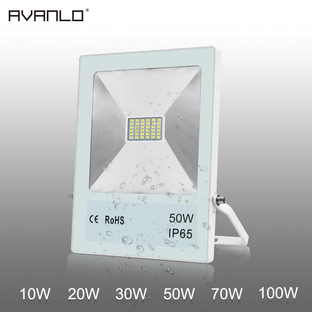 โปรเจคเตอร์ ip65 ไฟ led กันน้ำ led reflector ของภายนอกไฟ floodlight 10 W 20 W 30 W 50 W 70 W 100 W กลางแจ้ง
