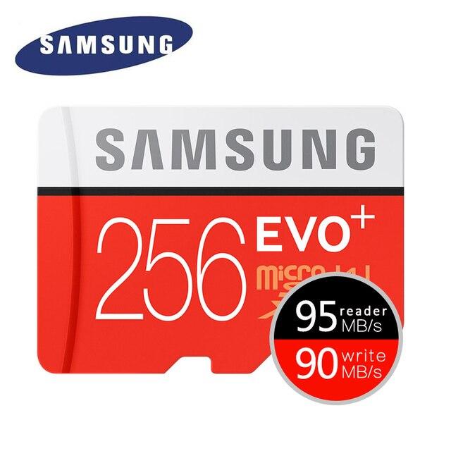 SAMSUNG EVO Plus Карты Памяти 32 ГБ SDHC 80 МБ/с. Class10 Micro SD C10 UHS-I TF/SD Карт SDXC Trans Flash 64 ГБ 128 ГБ 256 ГБ бесплатная корабль