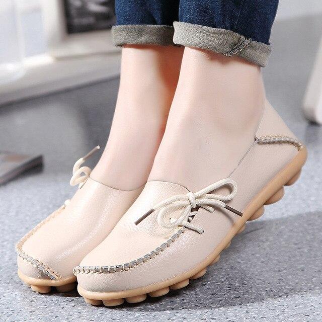 16 Цвета Женщины Плоские Туфли Мокасины Скольжения На Женщину Плюс Размер женская Мода Повседневная Обувь Мокасины Обувь Женская 2017 QT179