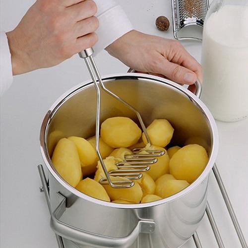 Popular Potato Ricers Press Stainless Steel Carrot Masher Cooking Tool Manual Ki