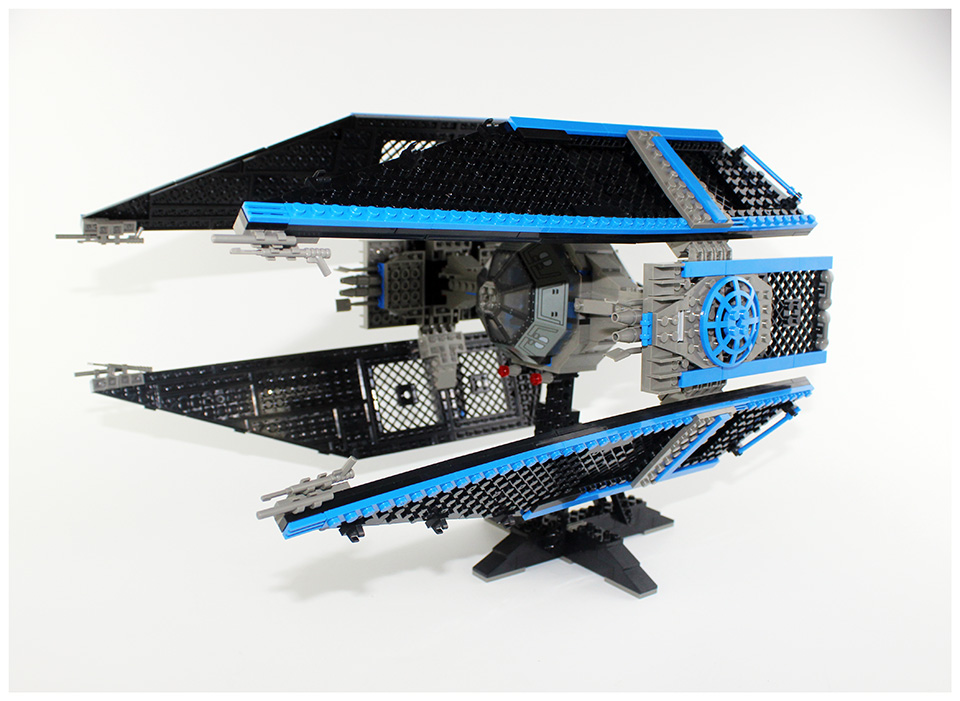 LEPIN 05044 703Pcs Star Series Wars Limited Edition The TIE Interceptor Building Blocks Bricks Model Toys Compatible With 7181