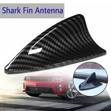 4 типа, универсальная Антенна из углеродного волокна в стиле акульих плавников, основание, верхушки, декоративные антенны, антенны для крыши автомобиля, разъем антенны для большинства автомобилей