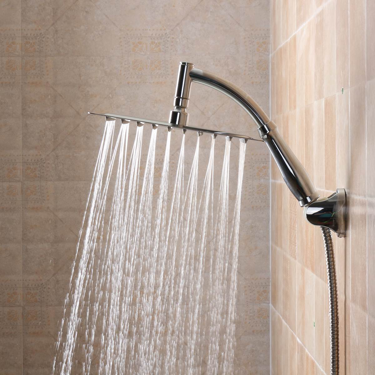 10 inch rain shower head. 10 Inch Square Bathroom Stainless Steel Rain Shower Head Rainfall  Ultra thin Chrome Online Get Cheap Aliexpress com Alibaba Group