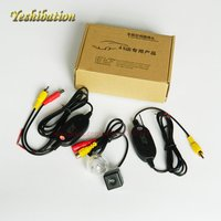 Yeshibation Wireless RCA/AUX Video Transmitter Receiver Kit For Suzuki Aerio Liana Hatchback Car DVD Monitor Rear View