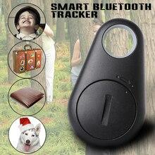 Смарт Bluetooth Tracer Finder Животное Ребенок GPS Локатор Тревоги Тега Ключа Бумажника Трекер Анти Потерянный Сигнал Тревоги AH015
