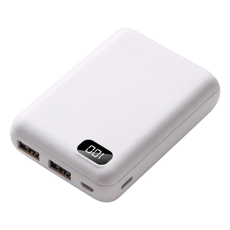 Mini Power Bank <font><b>10000</b></font> mAh Fast Charge Portable Charger batterie externa Battery Powerbank For Xiaomi Mi iPhone Huawei Poverbank image