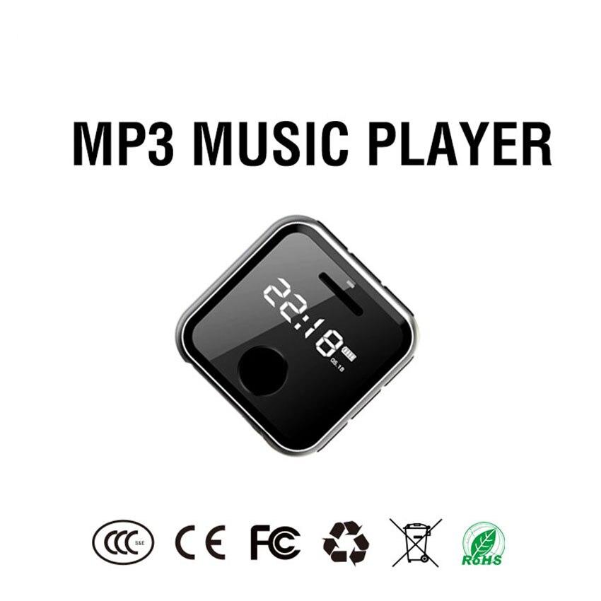 8 GB/16 GB Mini Portable Clip poignet lecteur Mp3 avec enregistreur FM Radio MP3 lecteur de musique Support TF carte pour Jogging baladeur enfant