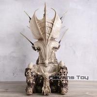 NECA Predator Clan Leader Predator THRONE Diorama Element Statue Figure Collectible Model Toy
