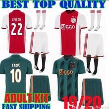 d0286e292b 2019 2020 novo longe campeão Camisa de futebol Ajax. DE LIGT DEJONG TADIC  SCHONE Ajax