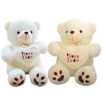 50cm Stuffed Plush Toy Holding LOVE Heart Big Plush Teddy Bear Soft Gift For Valentine Day