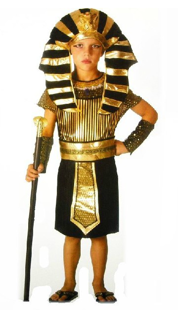New Pharaoh Halloween Costume For Kids cosplay costumes Fancy dress Halloween Party decorations supplies children gifts