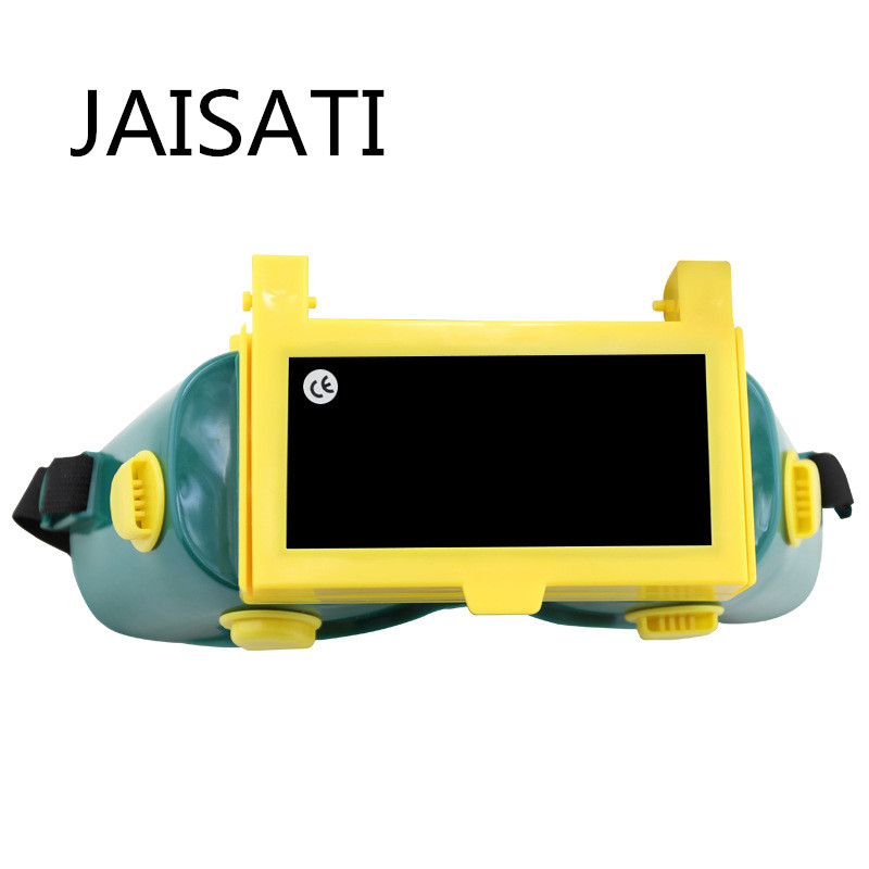все цены на JAISATI Welding glasses Welder Special mirror anti-strong mask light argon arc gasmirror protective Goggles