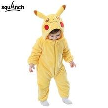 Baby Onesie Infant Kigurumi  Onepiece Pajama Anime Cartoon Child  Festival Party Outfit Sleepwear Winter Warm pajama party