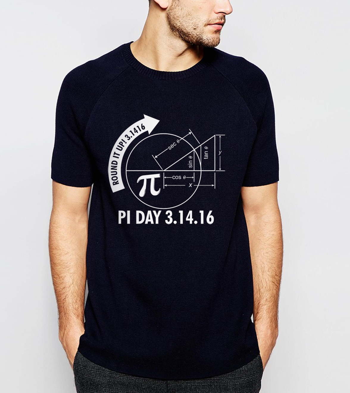 science men t shirt Math Graph And Pi 2018 summer new loose fit t-shirt Short Sleeve O-Neck 100% cotton high quality tops tee ...