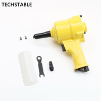 TECHSTABLE High quality air riveter gun pneumatic riveters pneumatic rivet gun riveting tool 2.4mm 4.8mm