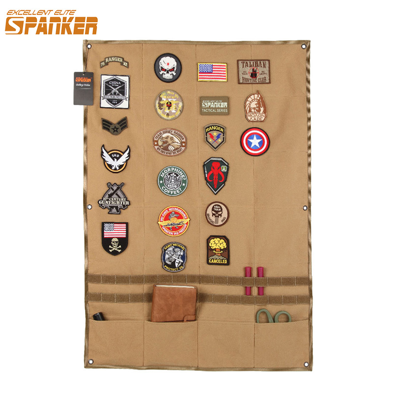 EXCELLENT ELITE SPANKER Outdoor Military Post Chapter Hunting Army Patches Badge Fabric Stickers Cloth Tactical Accessories excellent elite spanker military vertical id card credit card tactical holder two in one with adjustable
