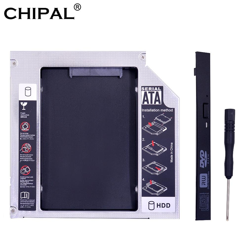 Caddy Enclosure ODD Ssd Case Notebook Aluminum DVD-ROM SATA PATA To IDE Optibay CHIPAL