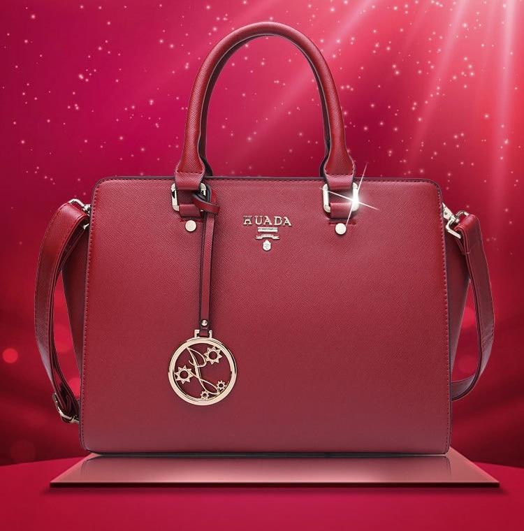 2017 New Arrival Luxury Handbags Women Bags Designer Fashion Genuine Leather Messenger Bag Female Handbag Single Shoulder Bag