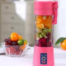 400ml Portable Electric USB Fruit Juicer Cup Baby Food Blender Mixing Machine baby assist food machine fruit vegetable mill grinder electric baby food steam cooking mixing machine bl1601