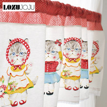 buy cat kitchen curtains and get free shipping on aliexpress