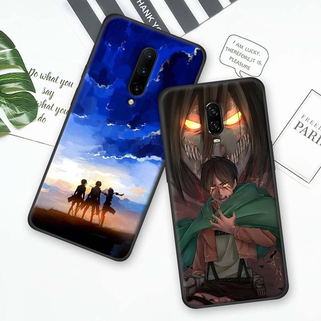 Attack on Titan Silicone Phone Case Cover for Oneplus Models