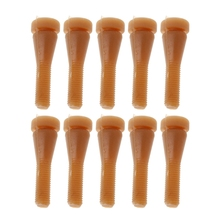 10PCS Poultry Plucking Fingers Hair Removal Machine Glue Stick Chicken Pluckers цена и фото