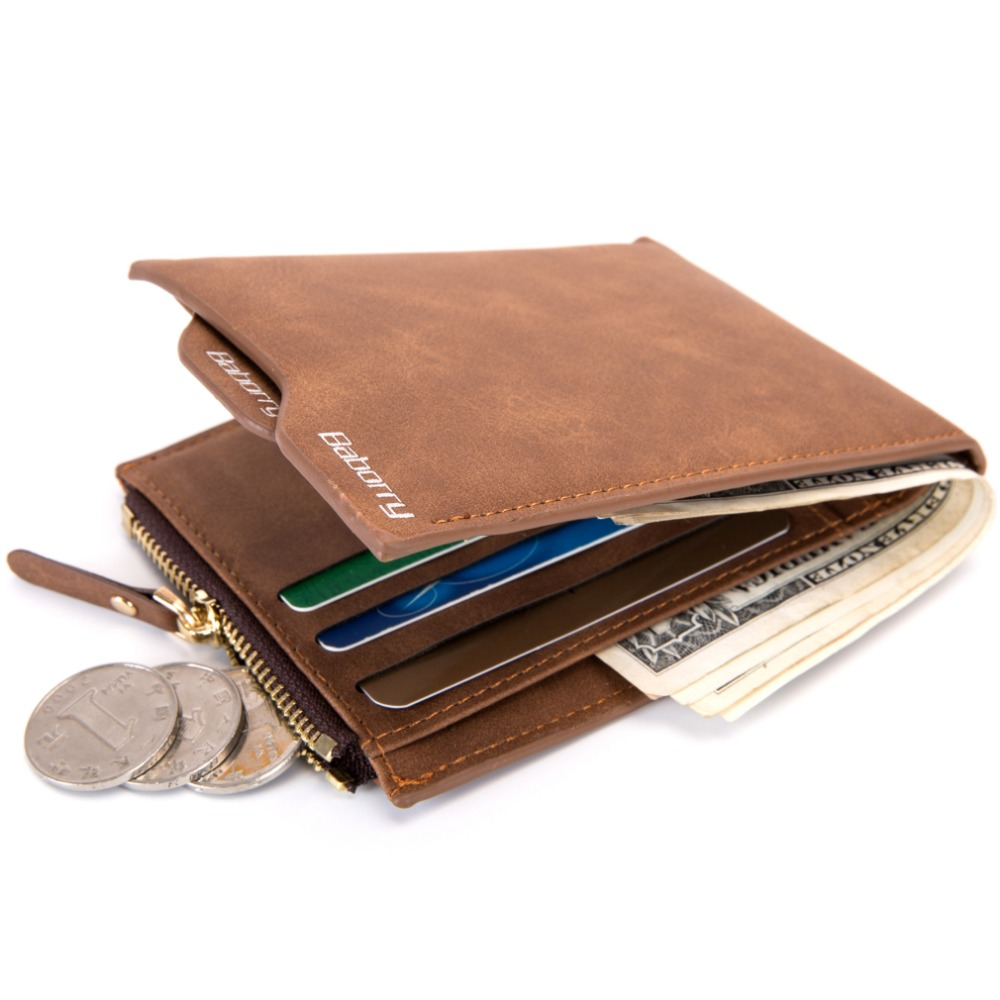 RFID Theft Protect Wallets Mens Wallet  Money Bag Card Holder Purses For Man Slim Purse Wallets for Men Rfid Blocking wallet
