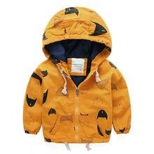 Детская одежда пальто 2015 мальчиков с капюшоном ветровка куртка молнии