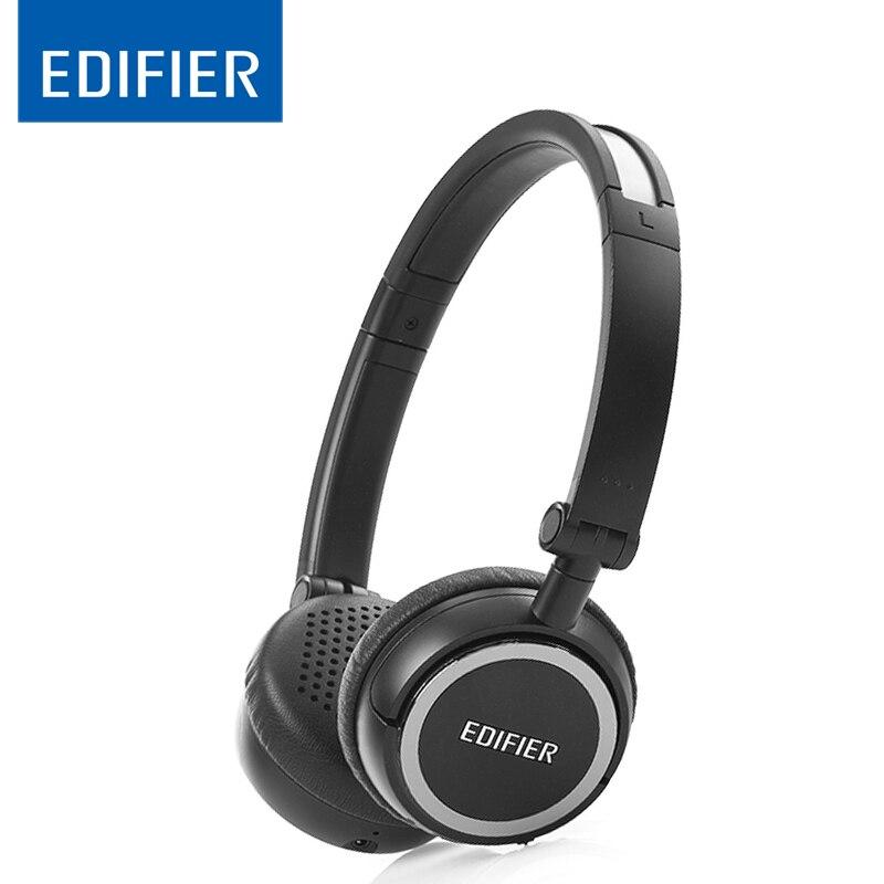 7d7aae5dc39 Fones De Ouvido EDIFIER W670BT fone de ouvido Bluetooth 4.0 Sem Fio On Ear  Controles Leve Over ear fone de Ouvido Estéreo Com Microfone Para  IOS Android em ...