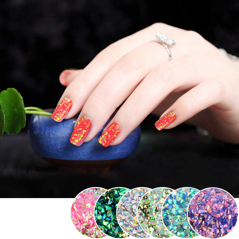 Detail Feedback Questions about 1Pack 5g Fish Scales Mermaid Nail ...