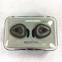 Newest Moxpad M6 Wireless Earphones Separating Earbud Bluetooth 4 1 TWS Earphones Stereo Music Headsets With
