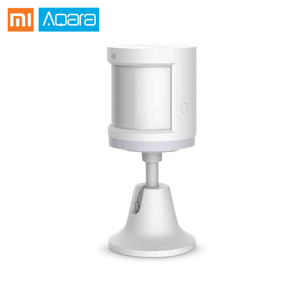 Original Xiaomi Aqara Smart Body Sensor Motion Sensor Smart Home Movement Body Sensors Zigbee Connection Security Device
