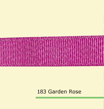 1 inch 25mm Silver Purl font b Garden b font Rose grosgrain ribbons