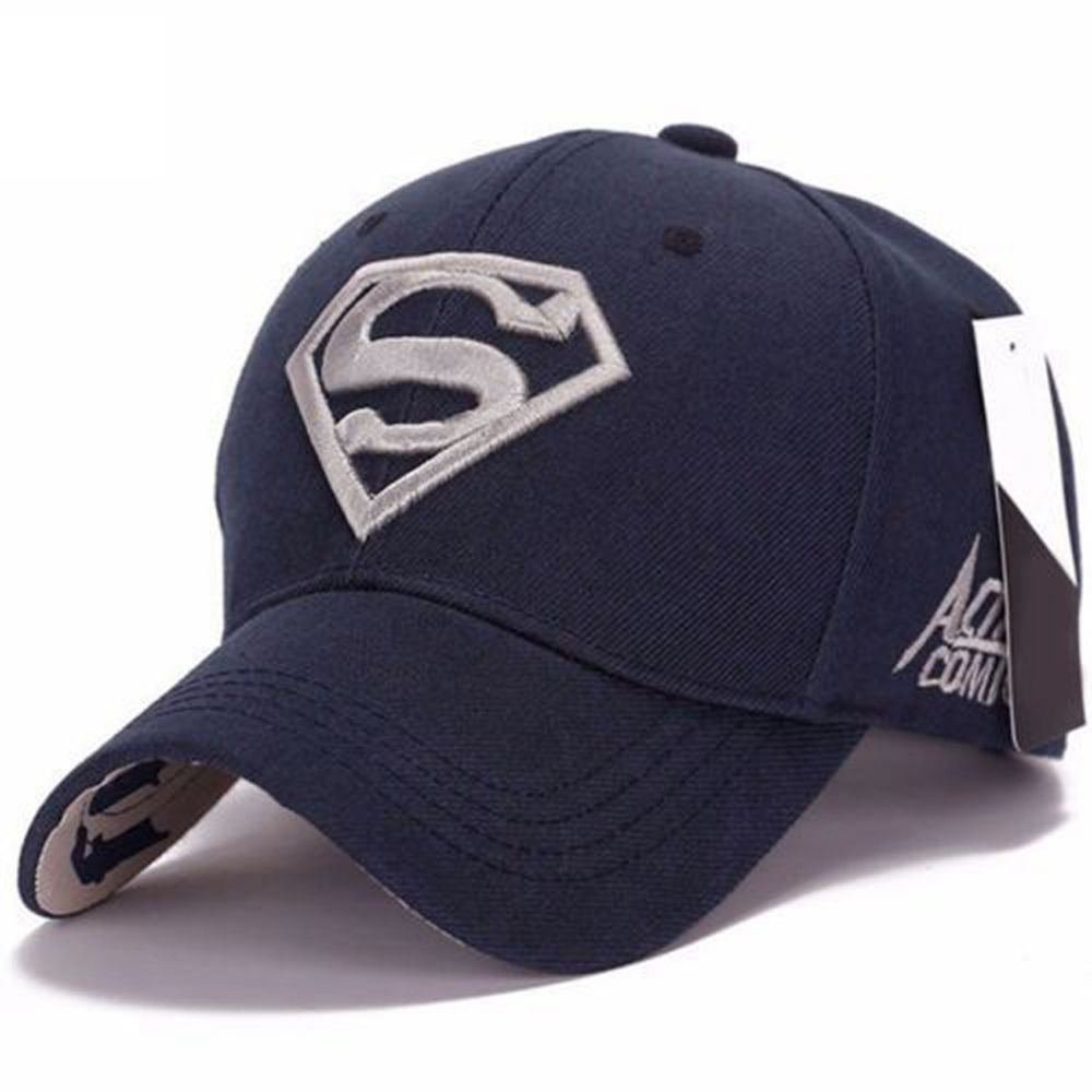Unisex Snapback Fit Baseball Cap Superman Hip-hop Stretch Embroidery Hat 8 Colors Adjustable cn rubr fashion embroidery letter casual baseball cap outdoor climbing hip hop cap 6 colors cotton unisex spring summer hat