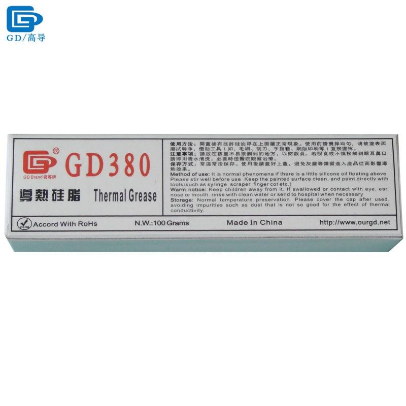 GD380 Compuesto térmico de pasta de grasa Emplasto de silicona - Componentes informáticos - foto 1