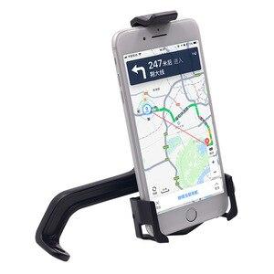 Image 4 - Motorrad Spiegel Halterung Telefon Halter Stehen Roller Rückansicht Montieren Handy Stehen für 3,5 6,5 Inch Mobile Geräte