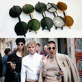 Lente Rodada Óculos De Sol do vintage Dos Homens/mulheres Oculos de sol Gafas Retro Revestimento óculos de Sol Óculos Redondos Óculos de Lente Espelho Clássico Designer