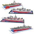 América del Coreano de Dokdo Elizabeth Portaaviones Nimitz Modelo Figuras de Acción Juguetes Modelo Mini Ladrillos DIY Regalos Educación