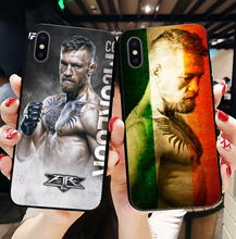 UFC Conor Mcgregor The King Soft TPU silicone cover phone case for iPhone 6SPlus 7Plus 8Plus SE 5 5S 6 6S 7 8 MAX XR XS X10