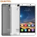Oukitel K6000 Pro 5.5 дюймов 4 Г LTE Мобильный Телефон MTK6753 Окта основные 3 ГБ + 32 ГБ 16.0MP Отпечатков Пальцев 6000Amh Отпечатков Пальцев ID Сотовых Телефонов
