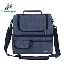 Zuoxiangru Double Picnic Bags Oxford Cloth Insulation And Cold Preservation Waterproof Leakproof Multifunction
