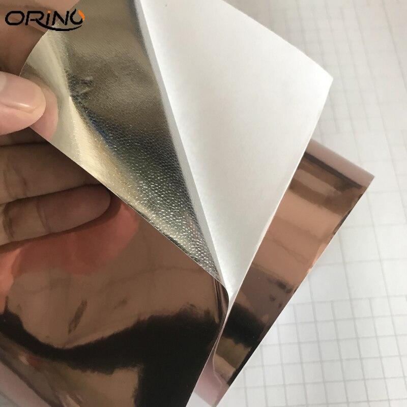 Rose Gold Chrome Vinyl Film Sticker-2