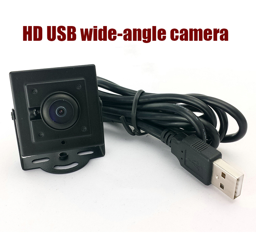 Full HD 1080P Mini USB CCTV Camera wide angle lens usb camera mini pc webcam free shipping