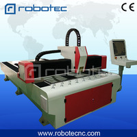 High end fiber laser cutting machine 500w with 1500x3000mm size