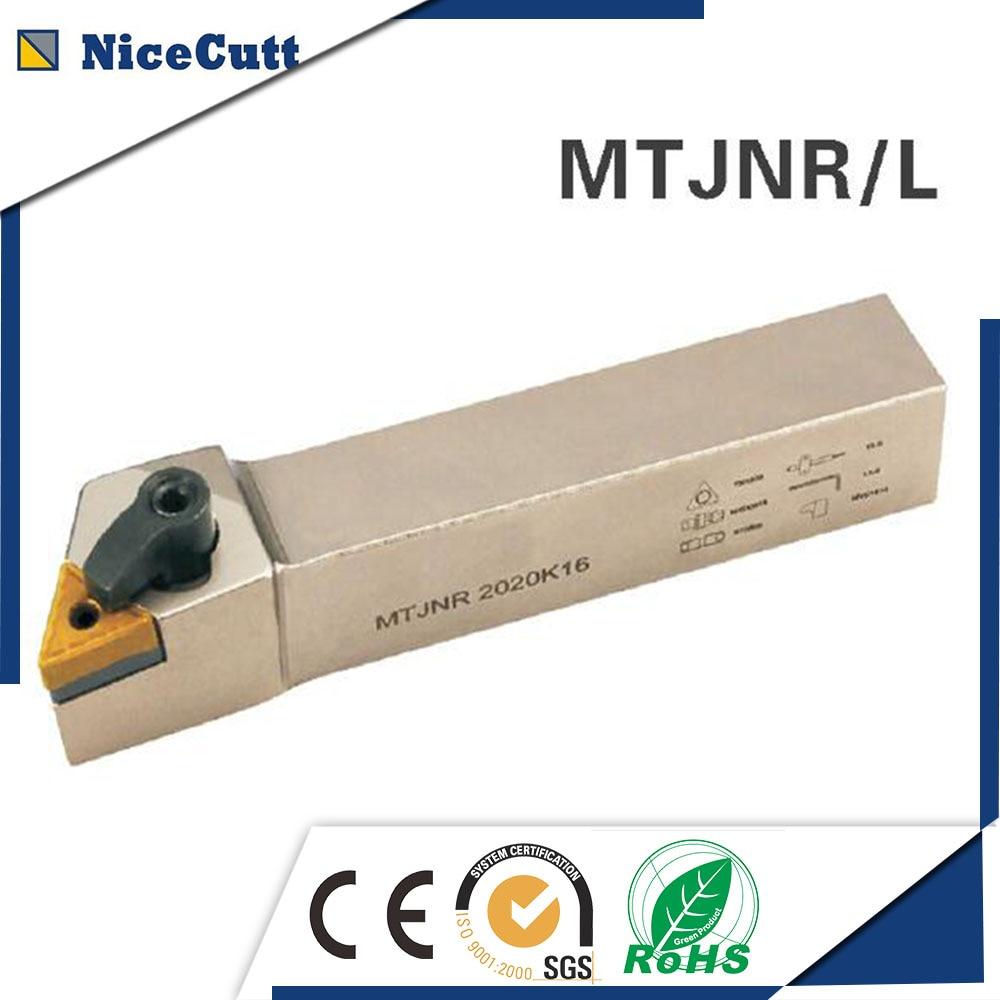 Free Shipping MTJNR/L2020K16 External Turning Tools Holder MTJNR1616H16 For Tungsten Carbide Insert TNMG1604 S20R