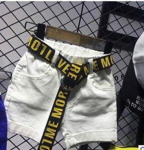 Image 4 - 2 PCS WLG בני קיץ בגדי סט ילדים ילד מודפס t חולצה הלבן ינס קצר סט ילדי בגדים מזדמנים