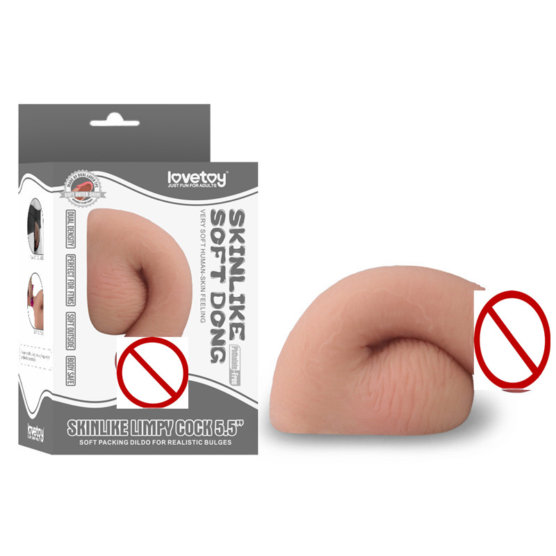 New Skin feeling Realistic <font><b>Penis</b></font> 5. 5 Inches TPE <font><b>Dildos</b></font> Flask Flexible Packaging <font><b>Dildos</b></font> <font><b>Sex</b></font> <font><b>Toys</b></font> for Woman <font><b>Sex</b></font> Products Female image