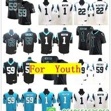 1bd21003cc1 2018 Youth s Carolina Luke Kuechly Cam Newton Vapor Untouchable Limited  Jersey Shirts(China)