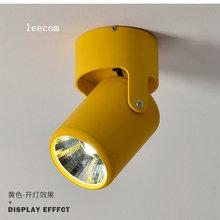 5 Вт 7 Вт супер яркий Точечный светильник вращение на 180 градусов потолочный светильник светодиодный светильник вниз Ac85-265v светильник
