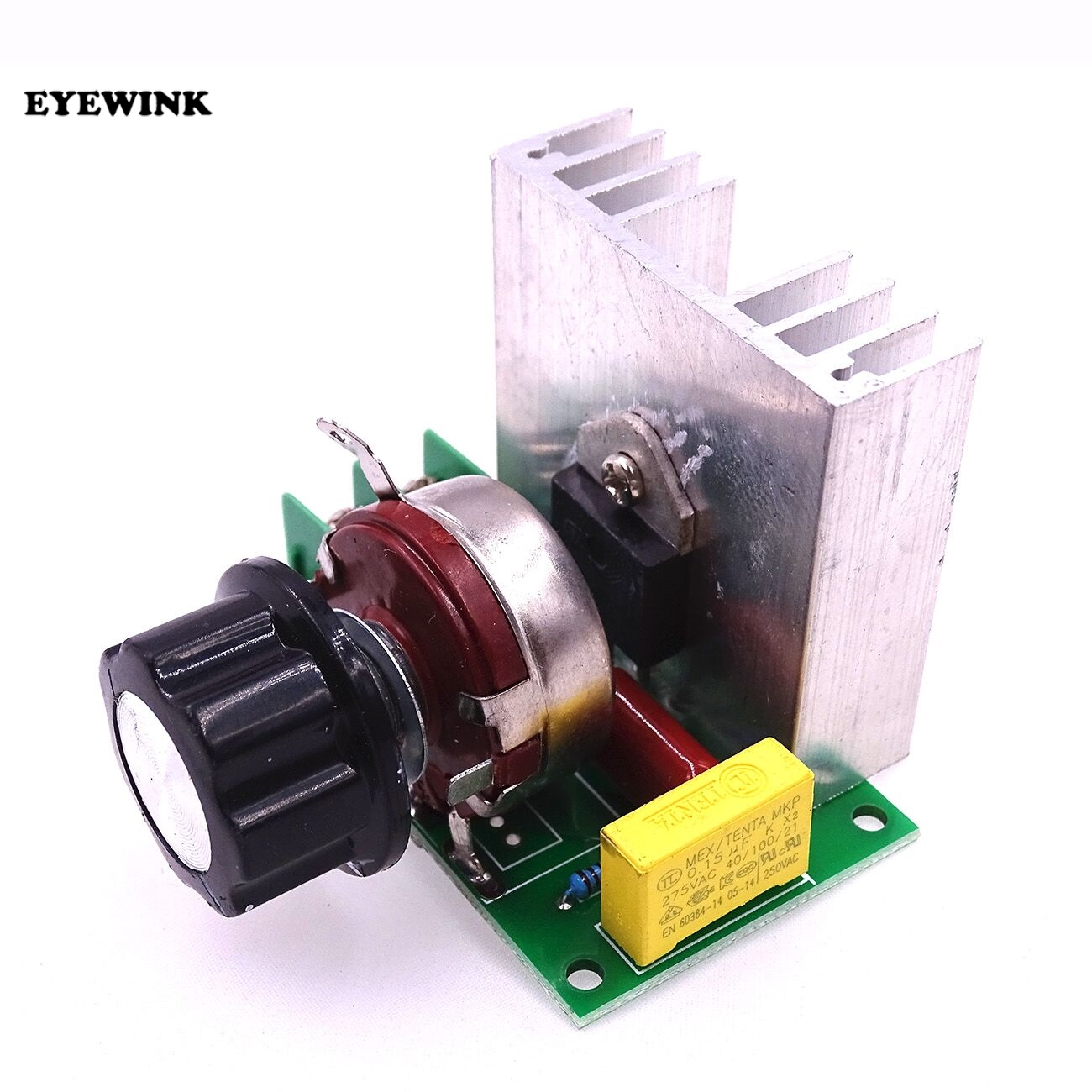1pcs New AC 220V 3800W imported SCR thyristor power electronic dimmer,voltage regulator,speed and temperature silicon controlled(China)